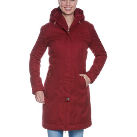Tatonka Floy Cappotto Donna, cherry red